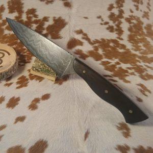 Couteaux droits, cuisine et chasse